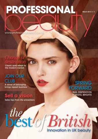 Professional Beauty issue Professional Beauty March 2012
