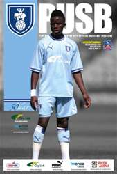 CCFC Official Programmes issue 20 v CRYSTAL PALACE (11-12)