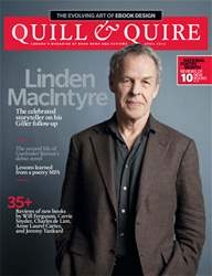 Quill & Quire issue April 2012