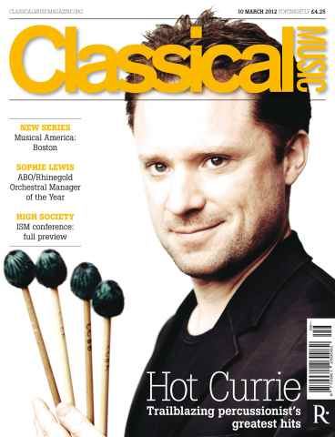 Classical Music issue Classical Music 10 March 2012