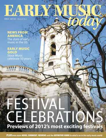 Early Music Today issue Early Music Today Mar-Apr 2012