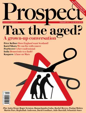 Prospect Magazine issue 191. February 2012