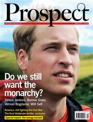 Prospect Magazine issue 181. April 2011