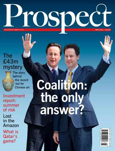 Prospect Magazine issue 182. May 2011
