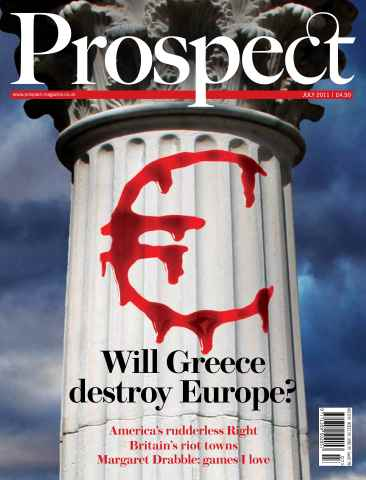 Prospect Magazine issue 184. July 2011