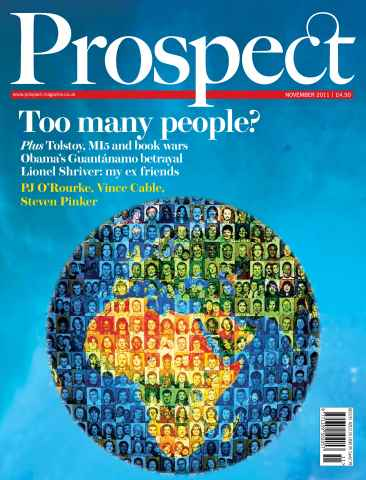 Prospect Magazine issue 188. November 2011