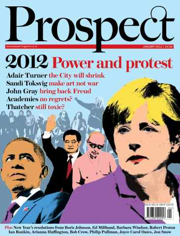 Prospect Magazine issue 190. January 2012