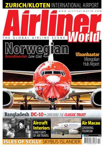 Airliner World issue April  2012