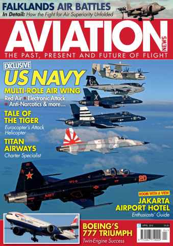 Aviation News issue April  2012