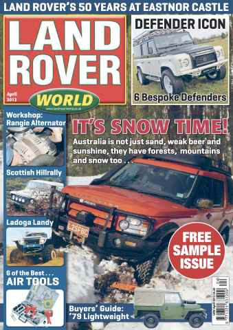 Landrover World issue LRW magazine Sample Issue