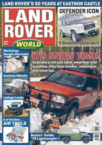 Landrover World issue Land Rover World April 2012