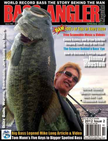 BASS ANGLER MAGAZINE issue Volume 21 Issue 2