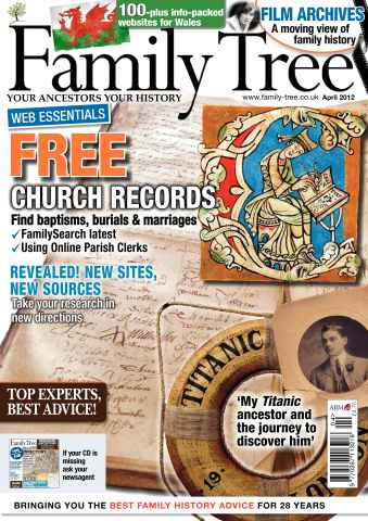 Family Tree issue April 2012