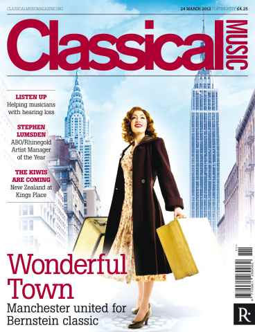 Classical Music issue Classical Music 24 March 2012