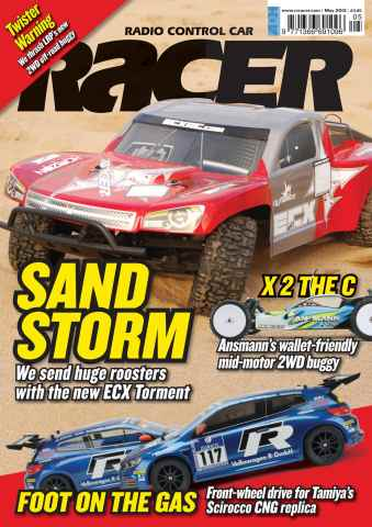 Radio Control Car Racer issue May 2012