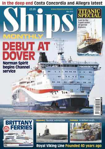 Ships Monthly issue Ships Monthly May 2012