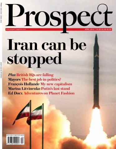 Prospect Magazine issue 193. April 2012