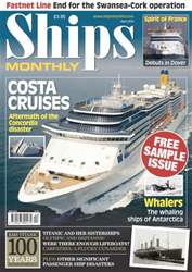 Ships Monthly issue Ships Monthly Sample Issue