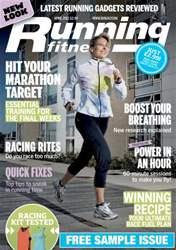 Running issue Running Fitness Sample Issue