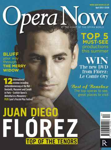 Opera Now issue Opera Now April 2012