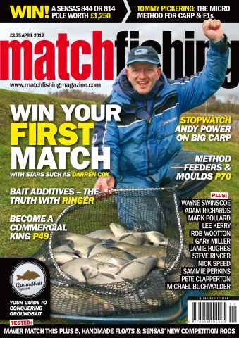 Match Fishing issue April 2012