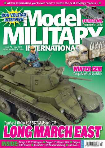 Model Military International issue 73