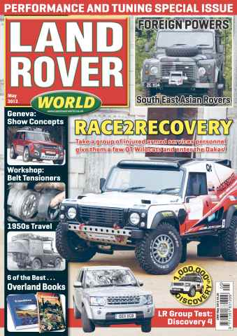Landrover World issue Land Rover world May 2012