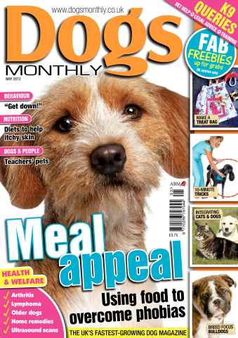 Dogs Monthly issue May 2012