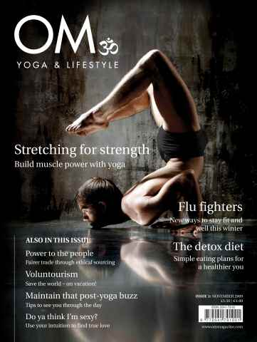 OM Yoga UK Magazine issue Issue 1