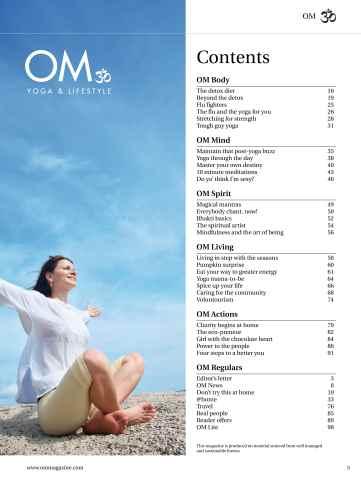 OM Yoga UK Magazine Preview 5