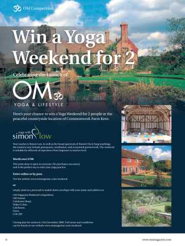 OM Yoga UK Magazine Preview 6
