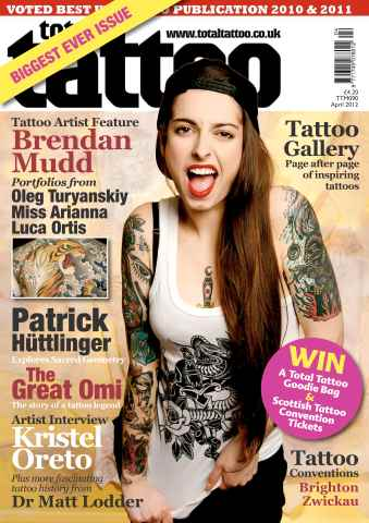 Total Tattoo issue Sampler issue