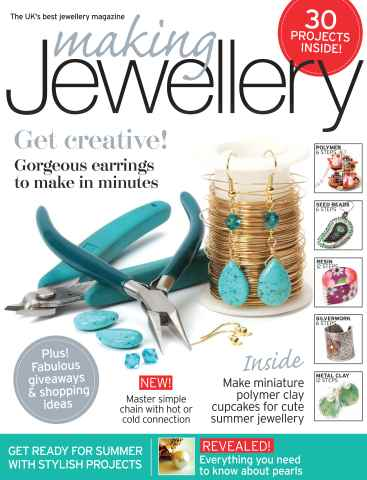 Making Jewellery issue May 2012