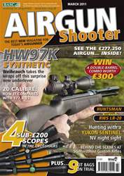 Airgun Shooter issue March 2011