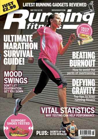 Running Fitness issue Marathon Recovery May 2012
