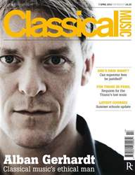 Classical Music issue Classical Music 07 April 2012