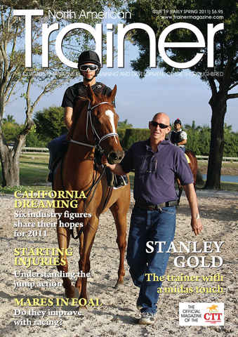 North American Trainer Magazine - horse racing issue Issue 19
