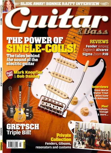Guitar & Bass Magazine issue May 2012 Power of Single-Coils