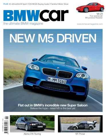 BMW Car issue November 2011