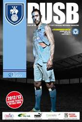 CCFC Official Programmes issue 23 v PETERBOROUGH (11-12)