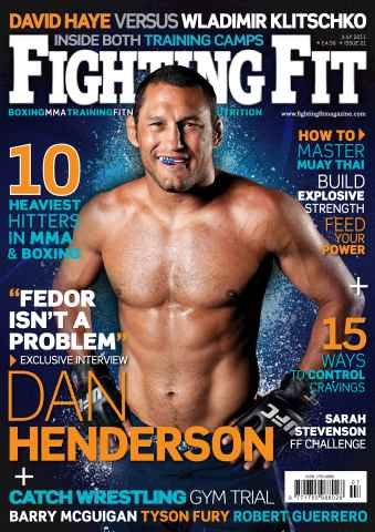 Fighting Fit issue July  2011