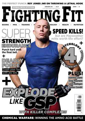 Fighting Fit issue January 2011
