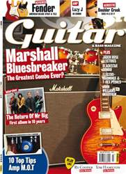 Guitar & Bass Magazine issue March 2011 Marshall Bluesbreaker
