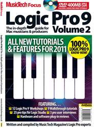 MusicTech Focus: Logic Pro 9 v2 issue MusicTech Focus: Logic Pro 9 v2