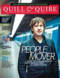 Quill & Quire issue May 2012