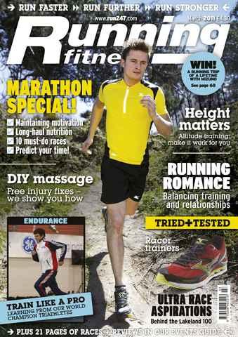 Running Fitness issue DIY Massage March 2011