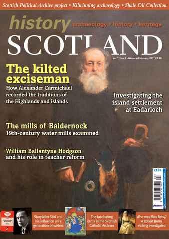 History Scotland issue Jan-Feb 2011