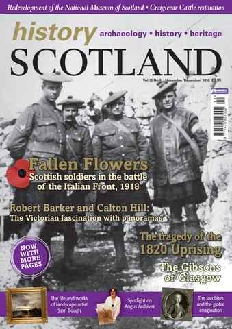 History Scotland issue Nov-Dec 2010