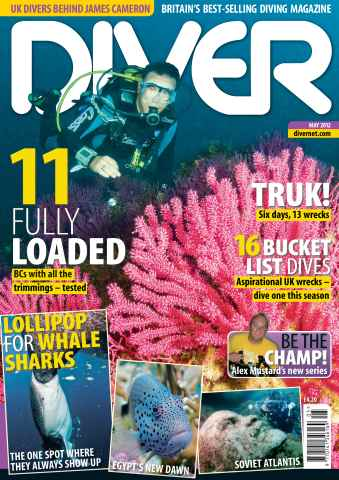 DIVER issue May 2012