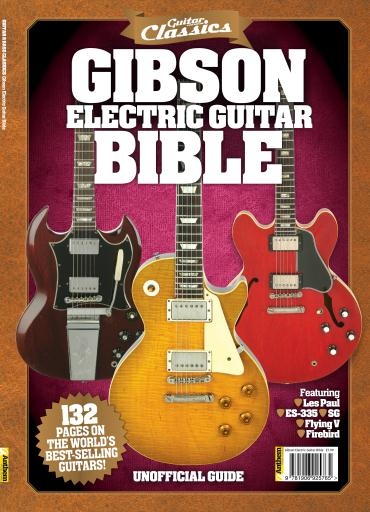 Classic Book Cover Guitar : Guitar and bass classics magazine gibson electric